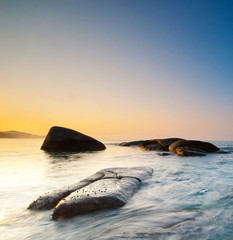 Seascape in rayong thailand