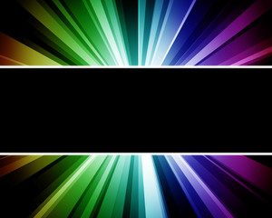 Abstract rainbow multicolored technology background.