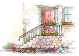 Fototapety porch