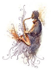 sax (Cbm painting)