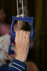 Treatment and care for the elderly in a nursing home.