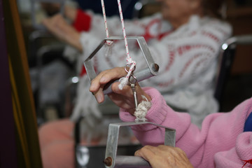 Treatment and care for the elderly in nursing homes