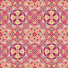 Elegant seamless ornate pattern