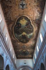 Interior Cathedral. Vieste. Puglia. Italy.