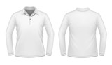 White long sleeve men shirt