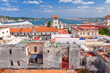 The red roofs of Old Havana