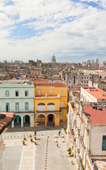 Old Havana with the Capitol in the background