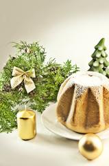 Pandoro - a Christmas cake