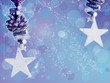 beautiful Christmas background with stars
