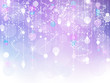 purple and blue bokeh sparkle background
