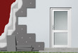 Fassadendämmung Aufbau Prinzip
