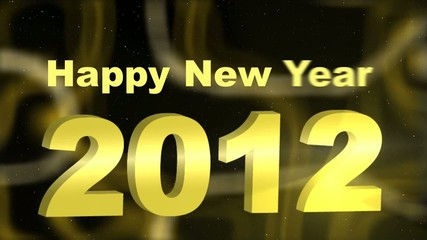Video background: Happy New Year 2012