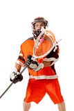 Lacrosse Player poster