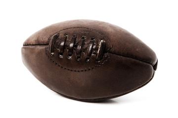 Ballon de rugby vintage