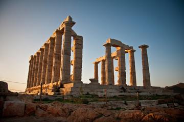 Temple Poseidon sounio