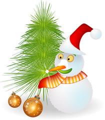 pupazzo di neve - Natale