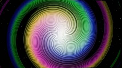 宇宙の中のカラフル