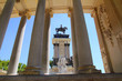 Alfonso XII monument Madrid in Retiro park