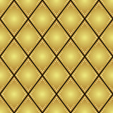 gold rhombus vector seamless pattern for background poster