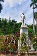 Statue of Carlos Manuel De Cespedes, Park in Havana, Cuba