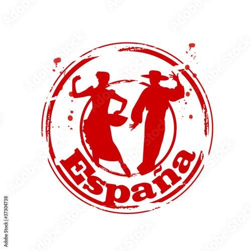 timbre Espagne