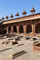 mosque Jama Masjid in Fatephur Sikri