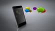 Smartphone et bulles