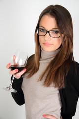 degustazione di vino rosso