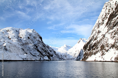 Winter in Trollfjord