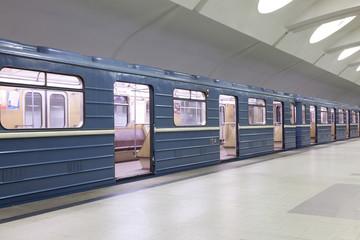Вестибиль станции метро.