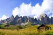 Fototapeten,dolomite,alpen,lodge,berg