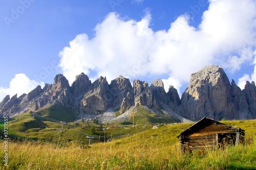 Leinwandbilder,münster,alpen,hütte,berg