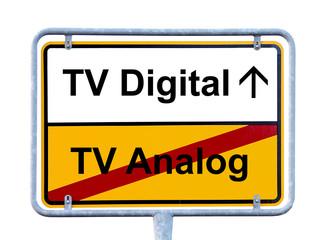 Von Analog zum TV Digital