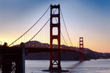 Golden Gate Bridge Sunset - 37312154