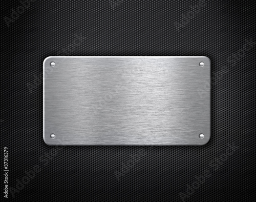 metal plate with rivets industrial background