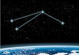 Fototapete Astrologie - Stern - Zeichen / Symbol