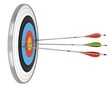 Business Success Concept  - arrow and target