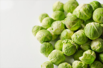 A group of Brussel sprouts