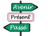 PANNEAUX PASSE,PRESENT,AVENIR poster