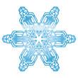 Symbol, Schnee, Glatteis, Rutschgefahr, Eisblume, Flocke, Eis
