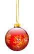 Weihnachtsdekoration, Dekor, Weihnachtsschmuck, Kugel, verziert
