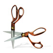 scissors cutting scissors