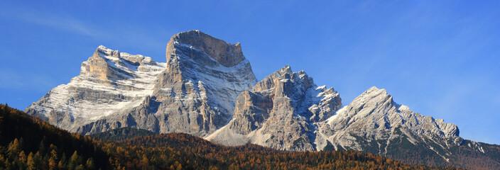 Panoramic View of Dolomiti Mountains