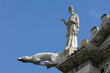 Pisa - Duomo facade.
