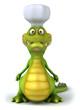 Crocodile chef