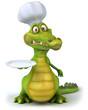 Crocodile chef