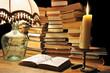lecture de livres ancien