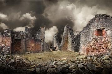 casa distrutta