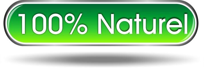 bouton100% naturel