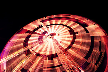 spinning big wheel